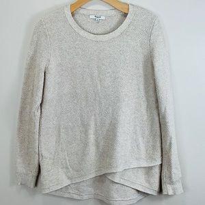 MADEWELL~ Med tan sweater